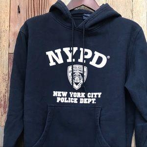 NYPD Sweatshirt w/Hoodie M